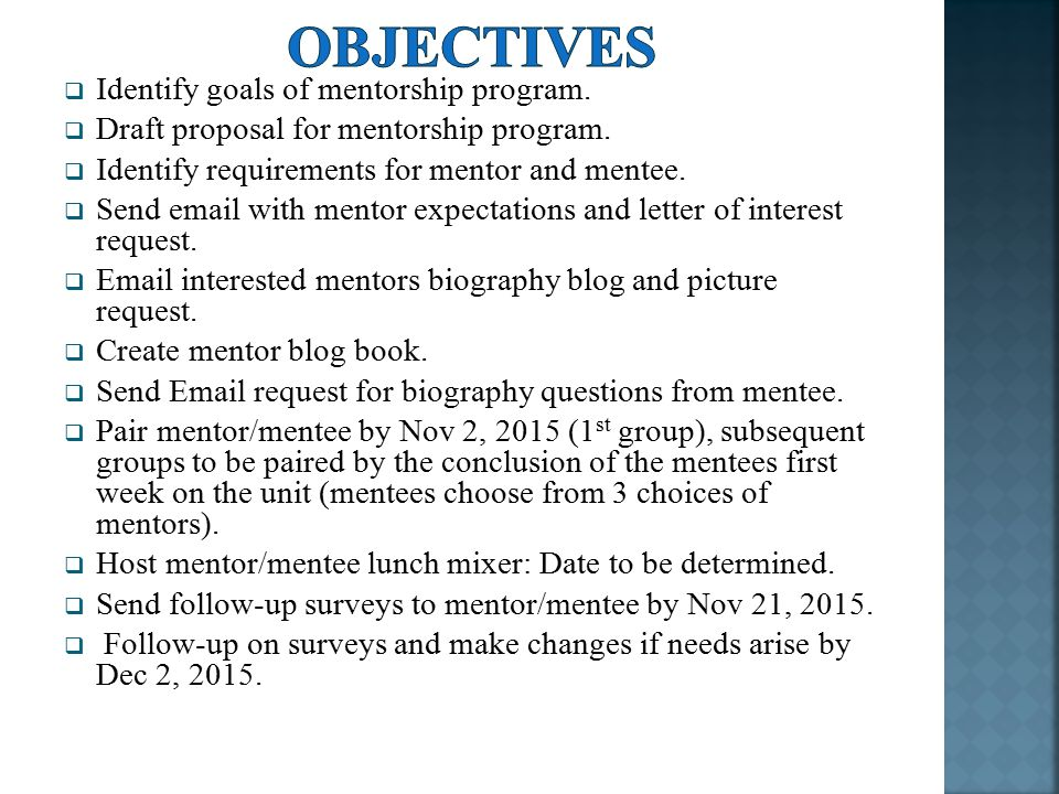Mentoring In The Neonatal Intensive Care Unit A Project