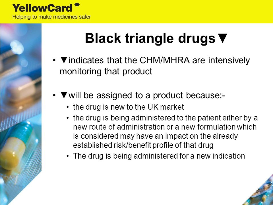 The Yellow Card Scheme Reporting Adverse Drug Reactions
