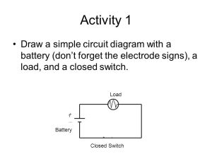Simple Closed Circuit Diagram – powerkingco