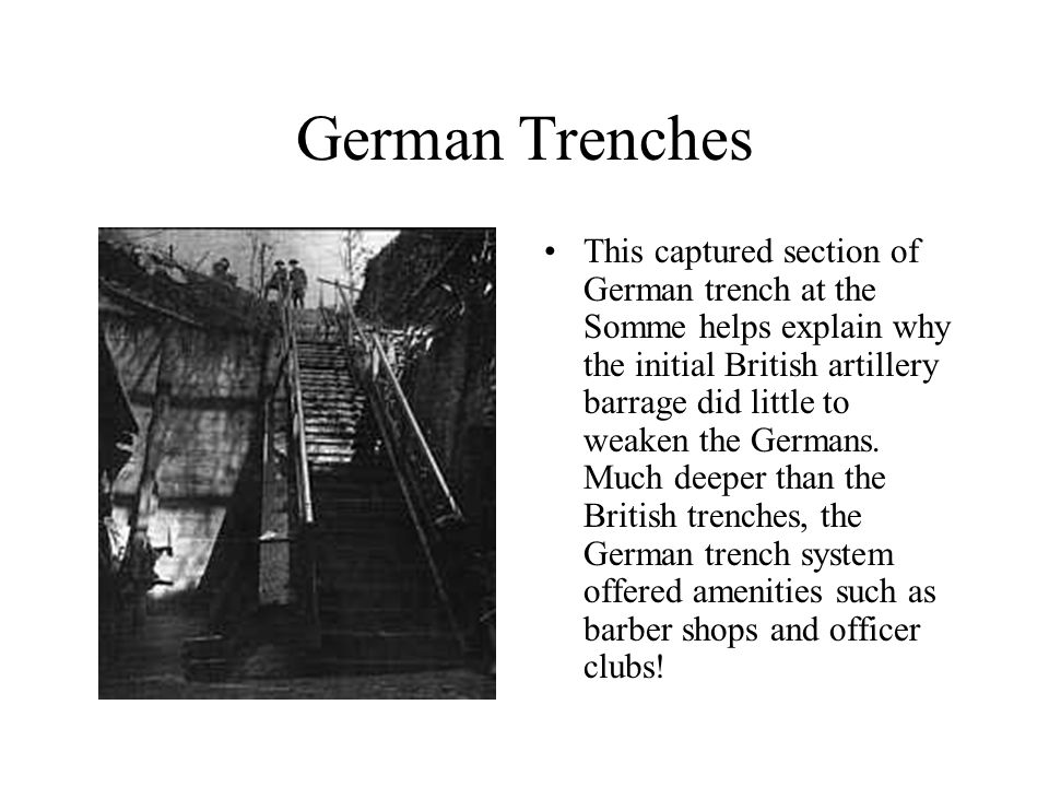 ww1 trench system diagram simplicity lawn tractor wiring weapons and life in the trenches - ppt download