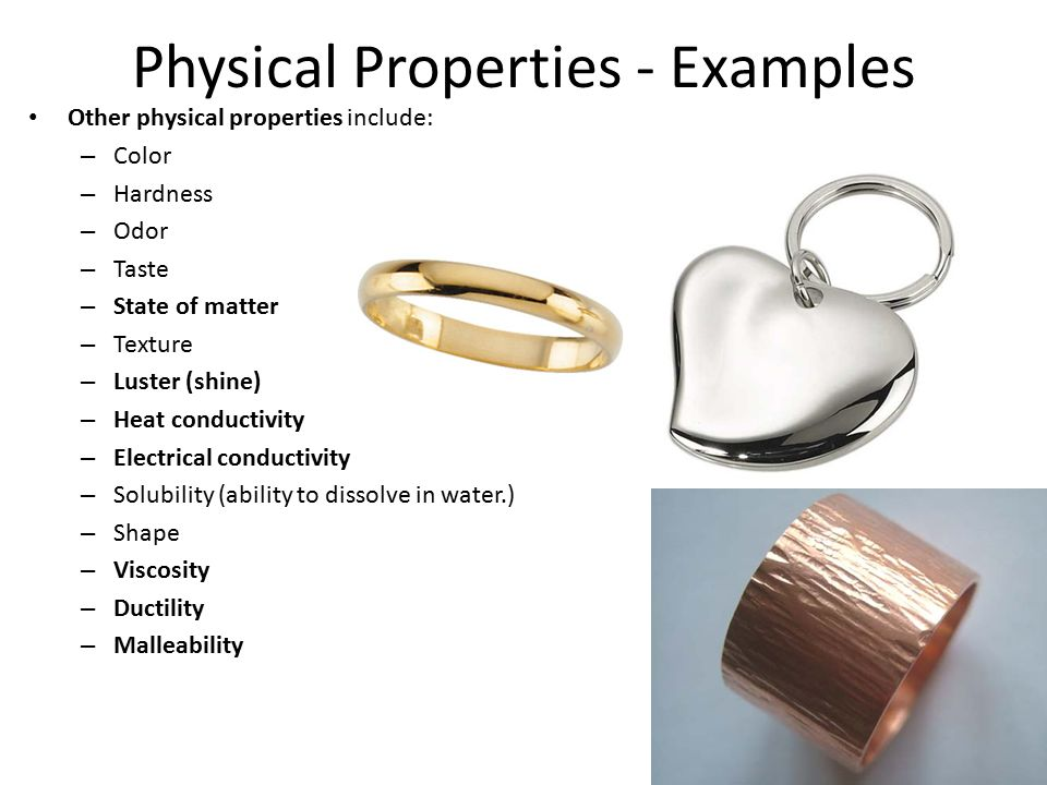 Unit 5 Physical And Chemical Properties And Changes Ppt