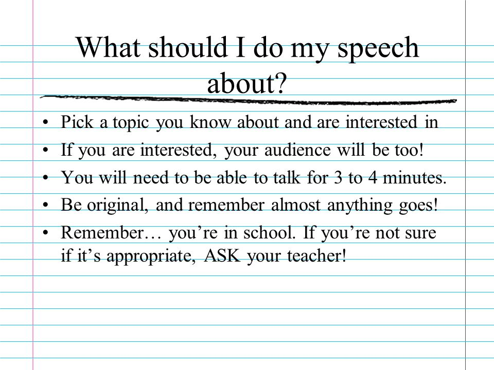 What makes a great speech  ppt download