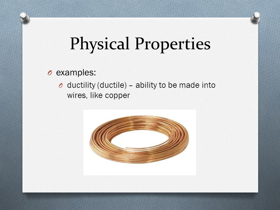 Properties And Changes Of Matter Ppt Download