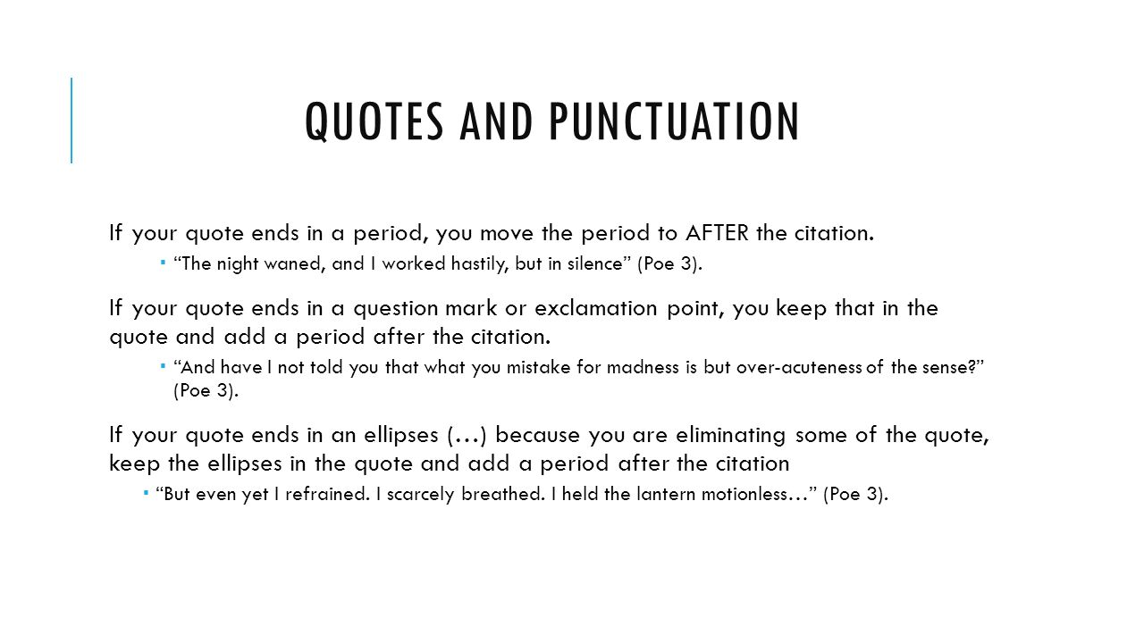 Quotes And Punctuation Period After Quote With Question Mark Mlack Picture