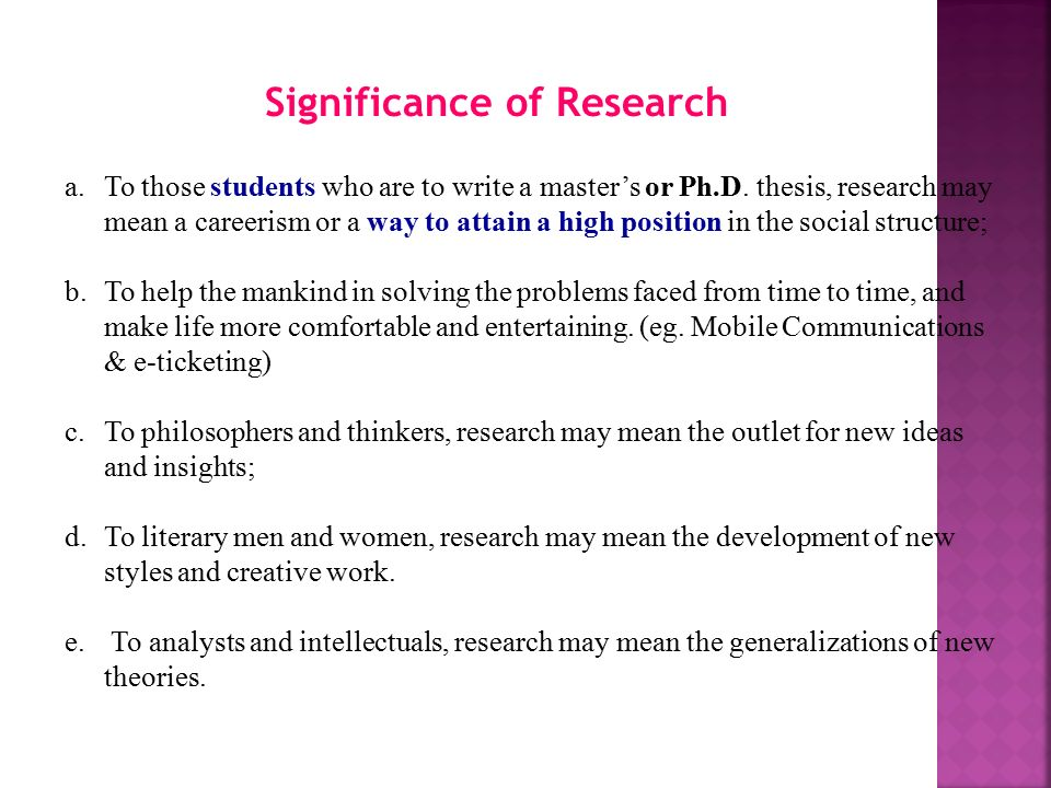 Significance Of Study In Thesis College Paper Academic Writing Service