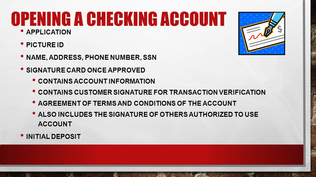 Checking Accounts Unit 1, Lesson Ppt Download