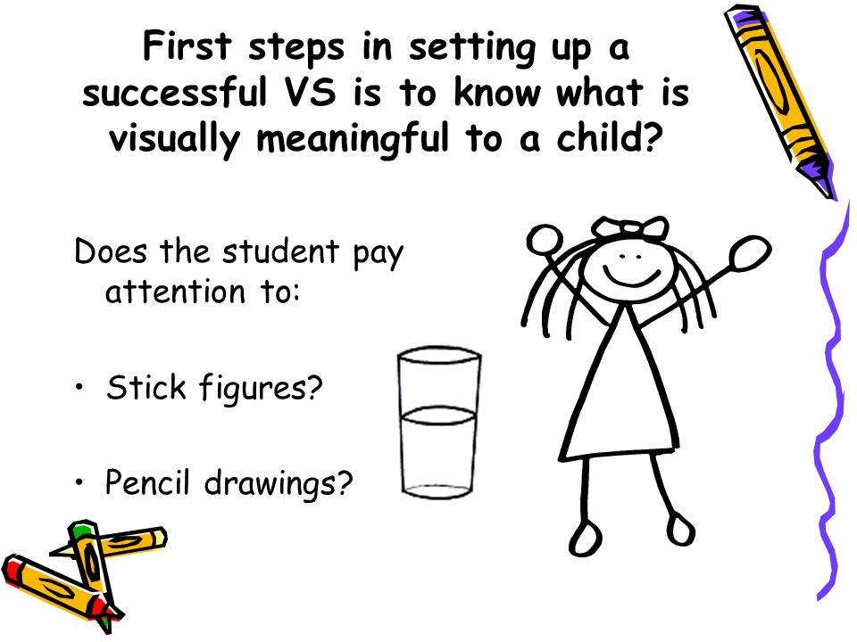 Visual Schedule and Social Story Supports for Children