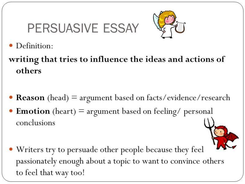 Define persuasive essay writing mistyhamel
