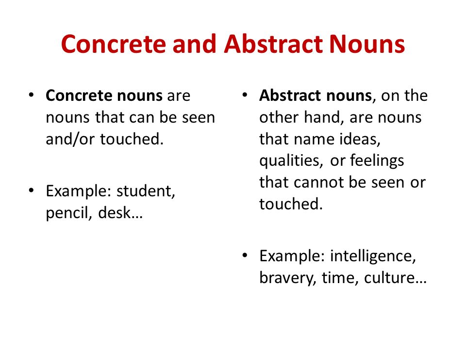Classes Of Nouns Ppt Video Online Download