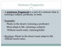 Printable Worksheets  Sentences And Fragments Worksheets ...