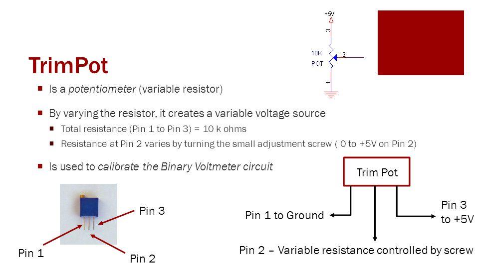 Potentiometer Variable Resistor Symbol