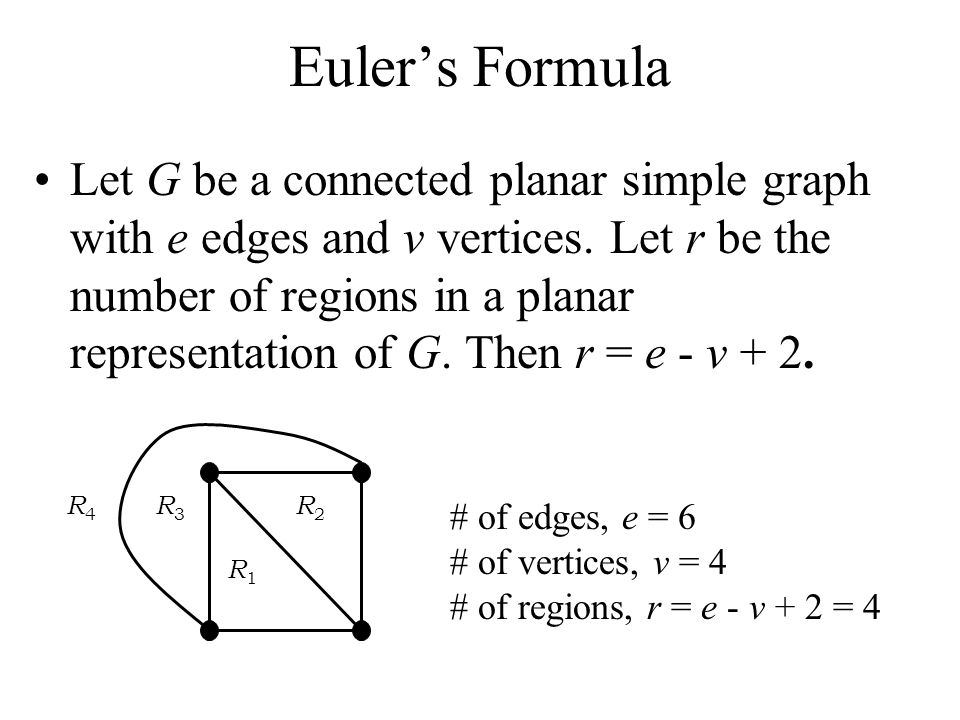 Chapter 97 Planar Graphs These class notes are based on