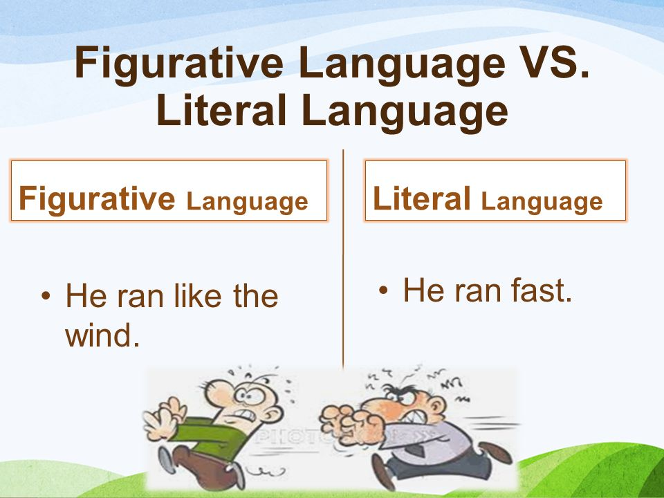 Figures Of Speech Figures Of Speech Figurative Language