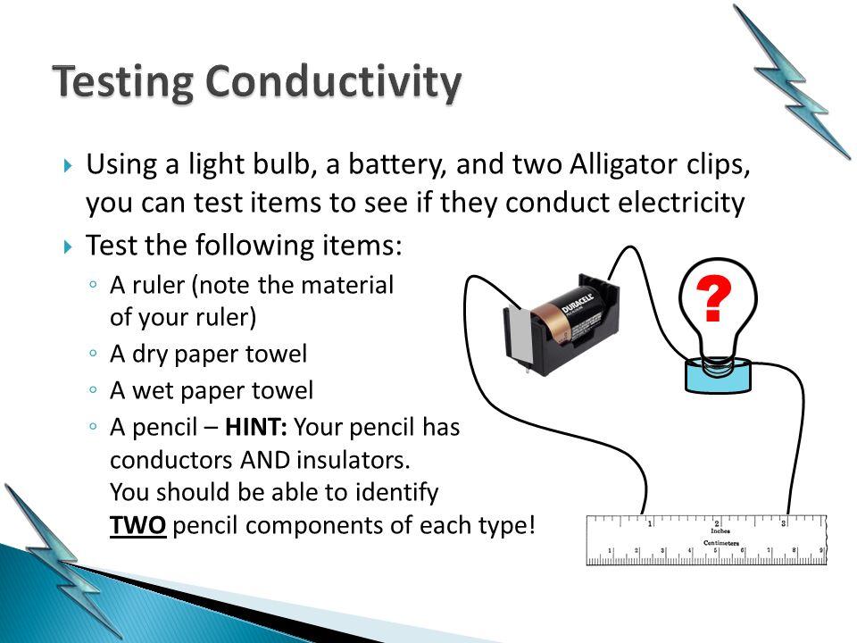 How Bulb Flows Battery Light Electricity