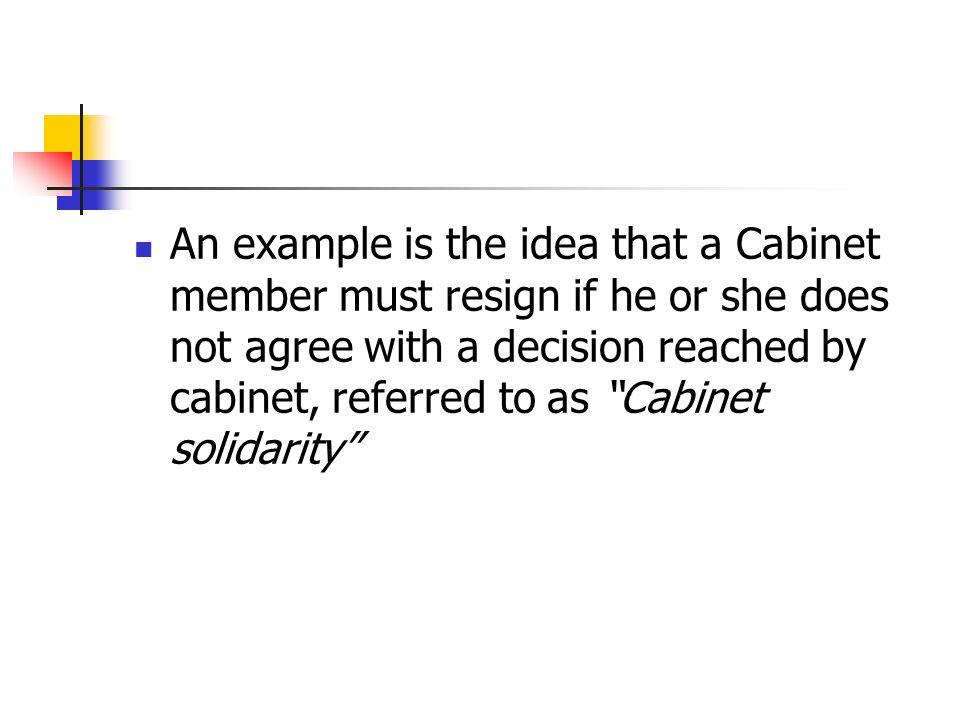 Cabinet Solidarity Definition - thesecretconsul.com