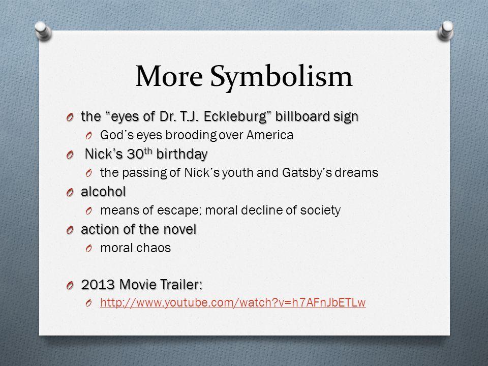 dr eckleburg gatsby