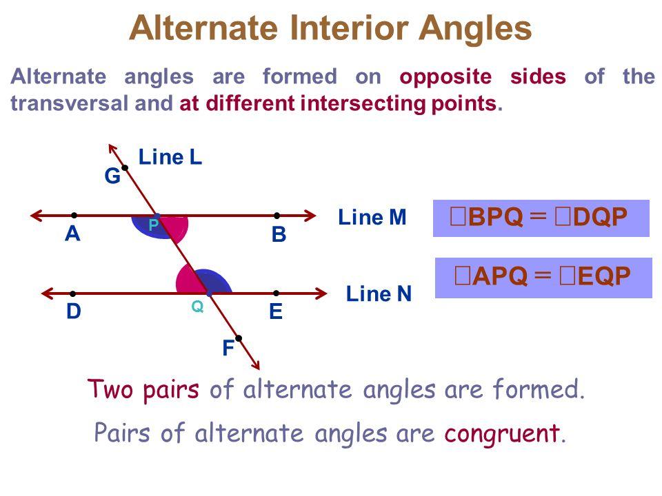 33 Parallel Lines  Transversals Mr Miller Geometry