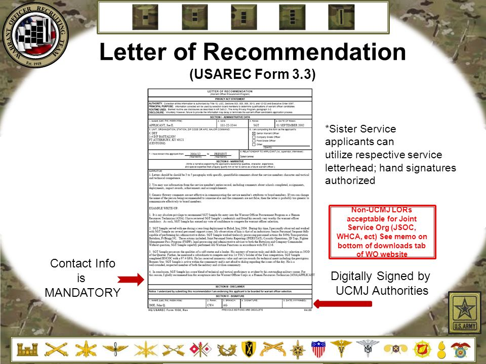 Warrant Officer Recruiting Brief Ppt Video Online Download