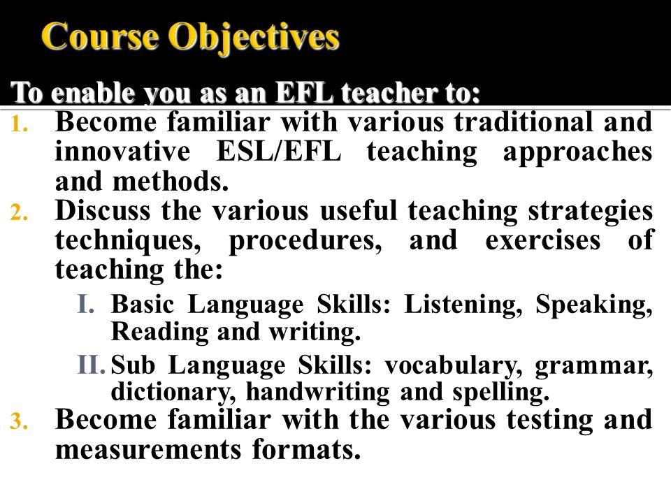 TEFL Teaching English as a Foreign Language Antar Abdellah