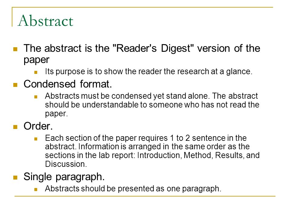 Five Basic Sections Of A Research Paper Ppt Video Online