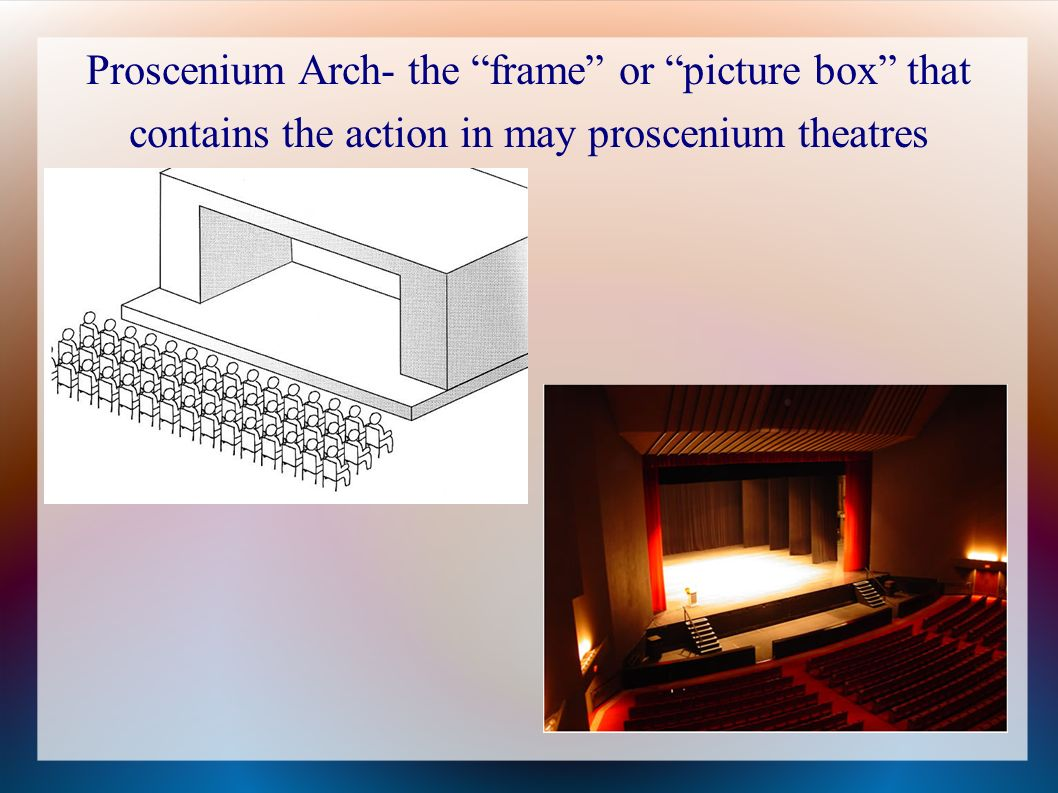 proscenium stage diagram box 4 pole contactor wiring theatre staging and design ppt download