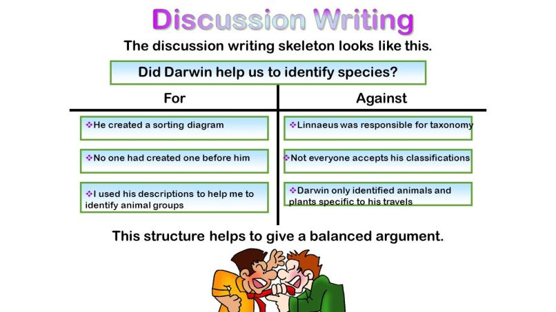 discussion writing frame | Allframes5.org