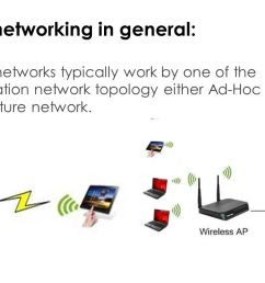 2 wireless networking in general wireless networks typically work  [ 1280 x 720 Pixel ]
