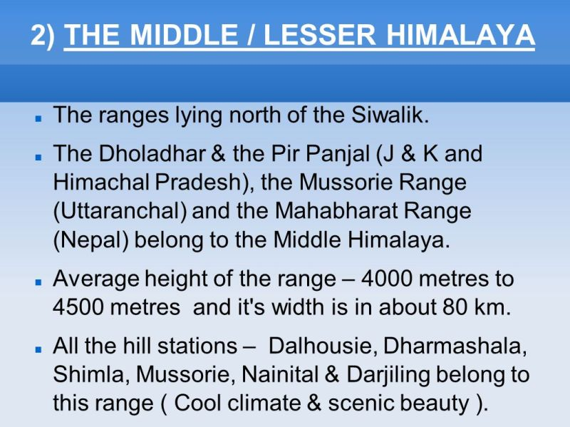 Image result for Lesser Himalayas
