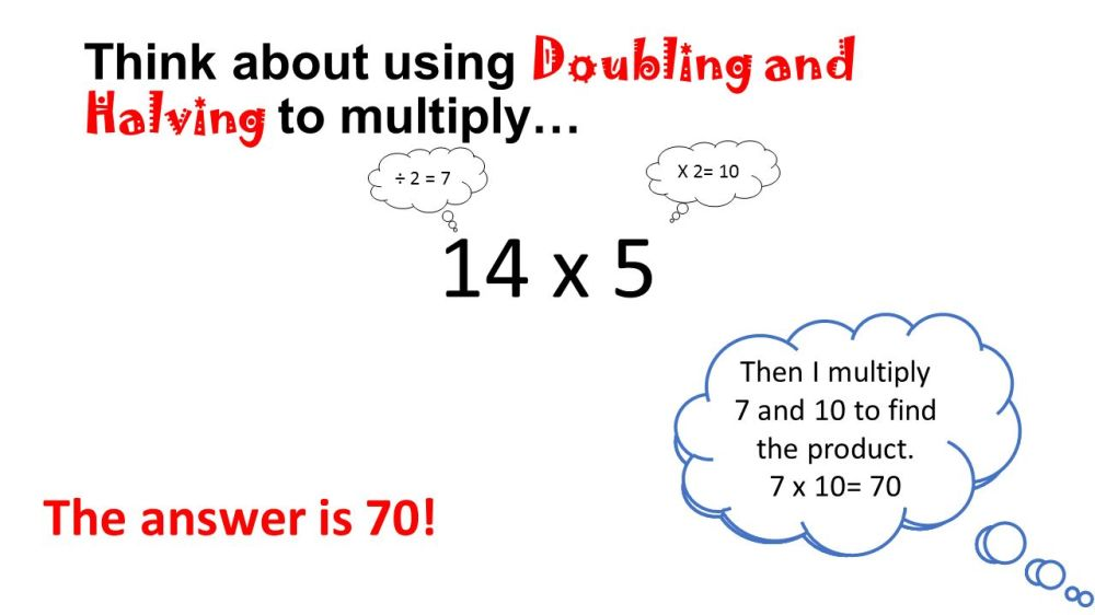 medium resolution of Halving And Doubling Multiplication Strategy - halting time