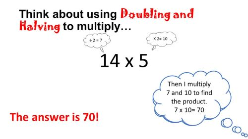 small resolution of Halving And Doubling Multiplication Strategy - halting time