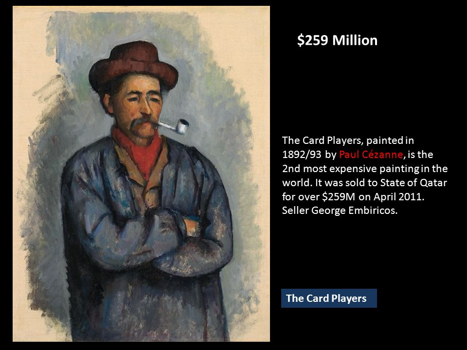Paul Cezanne Card Players Qatar Creativeletterco - Who painted the card players