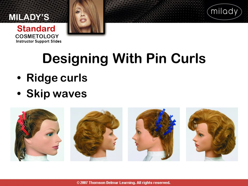 pin curl diagram daf wiring state board simple wirings milady standard cosmetology ppt download map