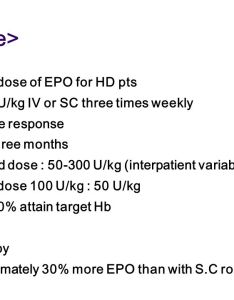 cdose   also erythropoietin for anemia of crf ppt video online download rh slideplayer