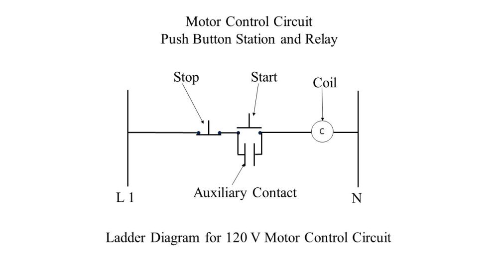 medium resolution of push button station and relay