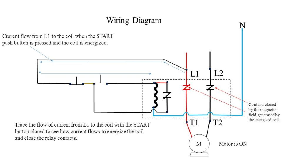medium resolution of n m wiring diagram current flow from l1 to