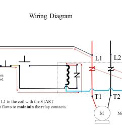 push button station and relay ppt video online download 2 way light switch wiring diagram [ 1280 x 720 Pixel ]