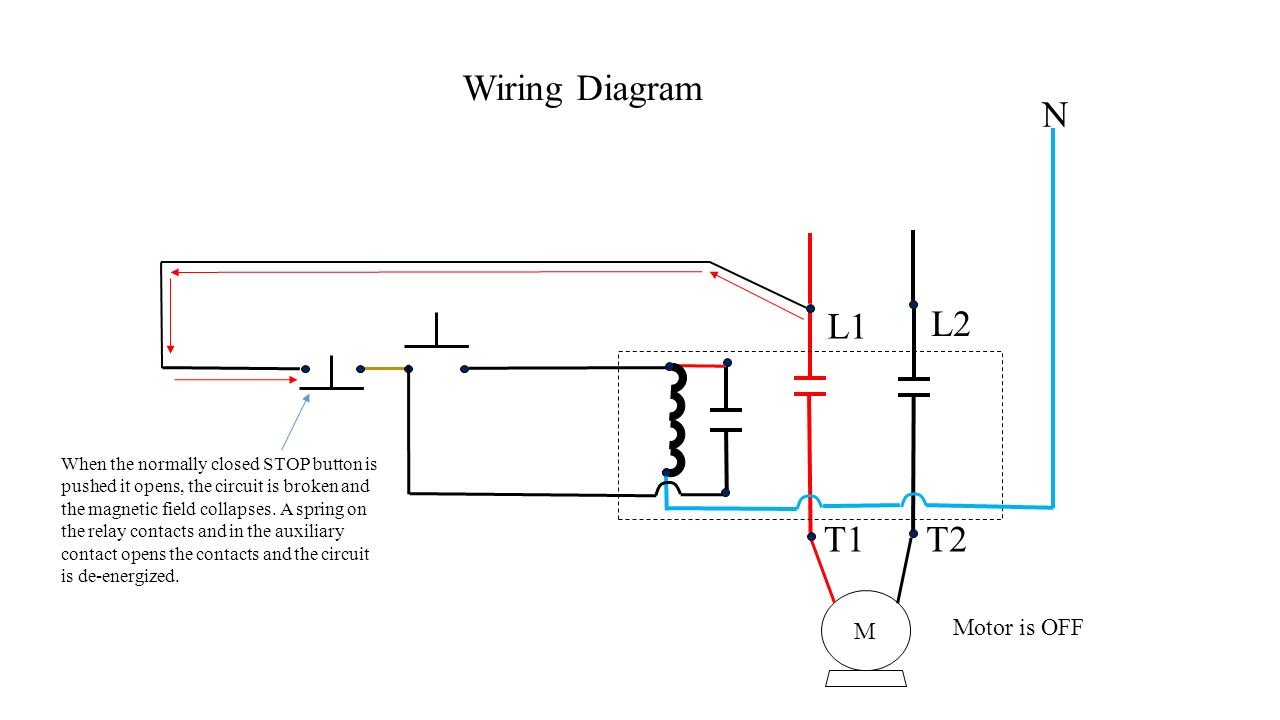 hight resolution of push button station and relay ppt video online downloadl1 l2 t1 t2 wiring diagram n motor