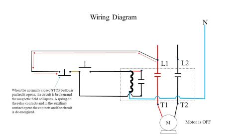 small resolution of push button station and relay ppt video online downloadl1 l2 t1 t2 wiring diagram n motor