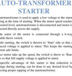 5 auto transformer starter [ 1024 x 768 Pixel ]