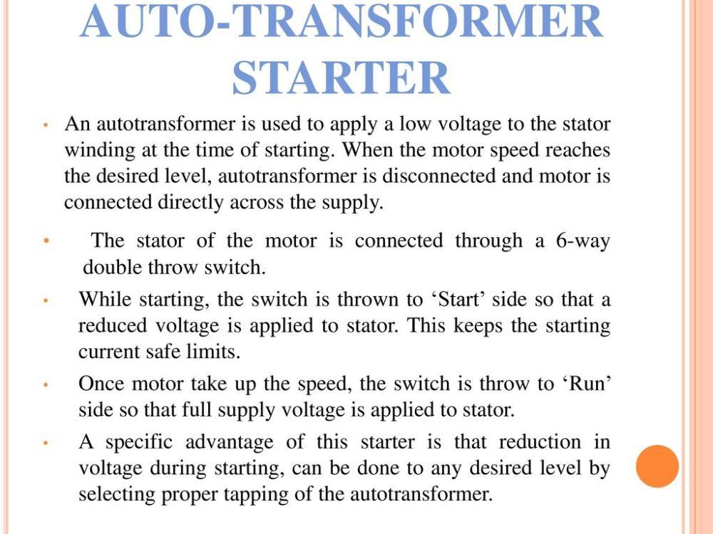 medium resolution of 5 auto transformer starter