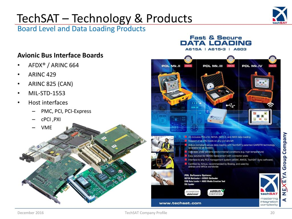 hight resolution of 20 techsat technology products