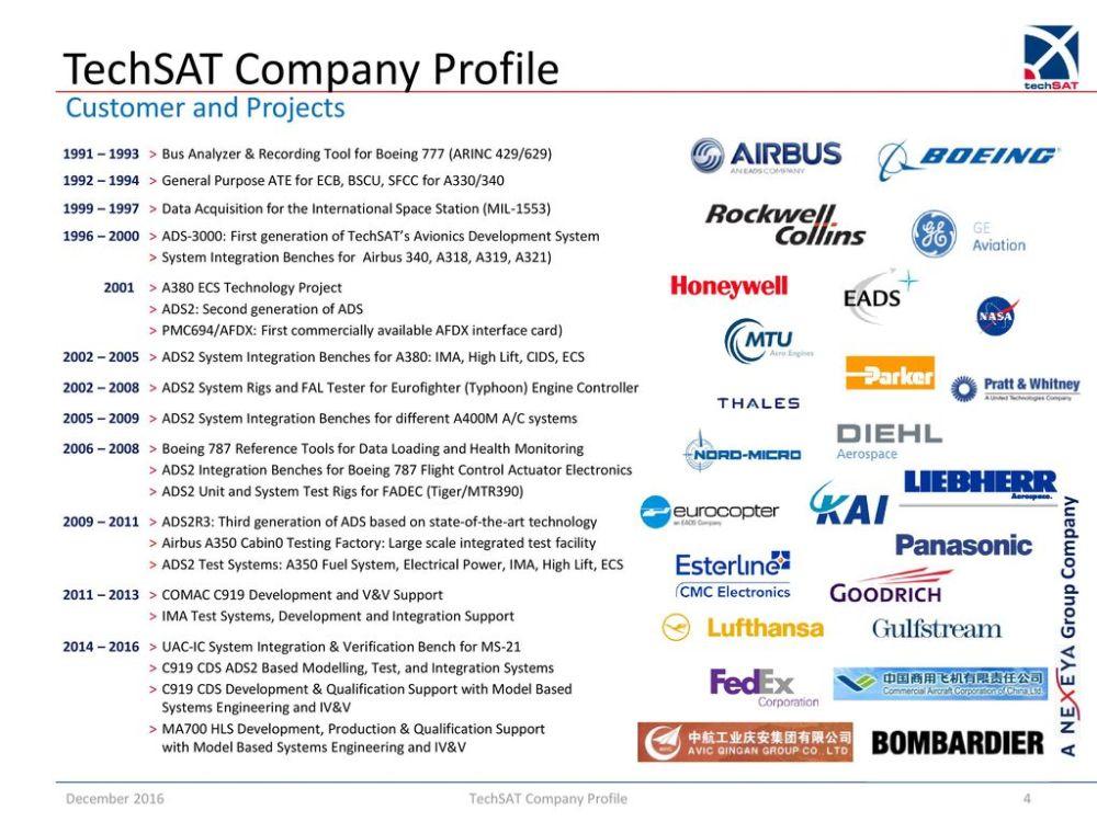 medium resolution of 4 techsat company profile