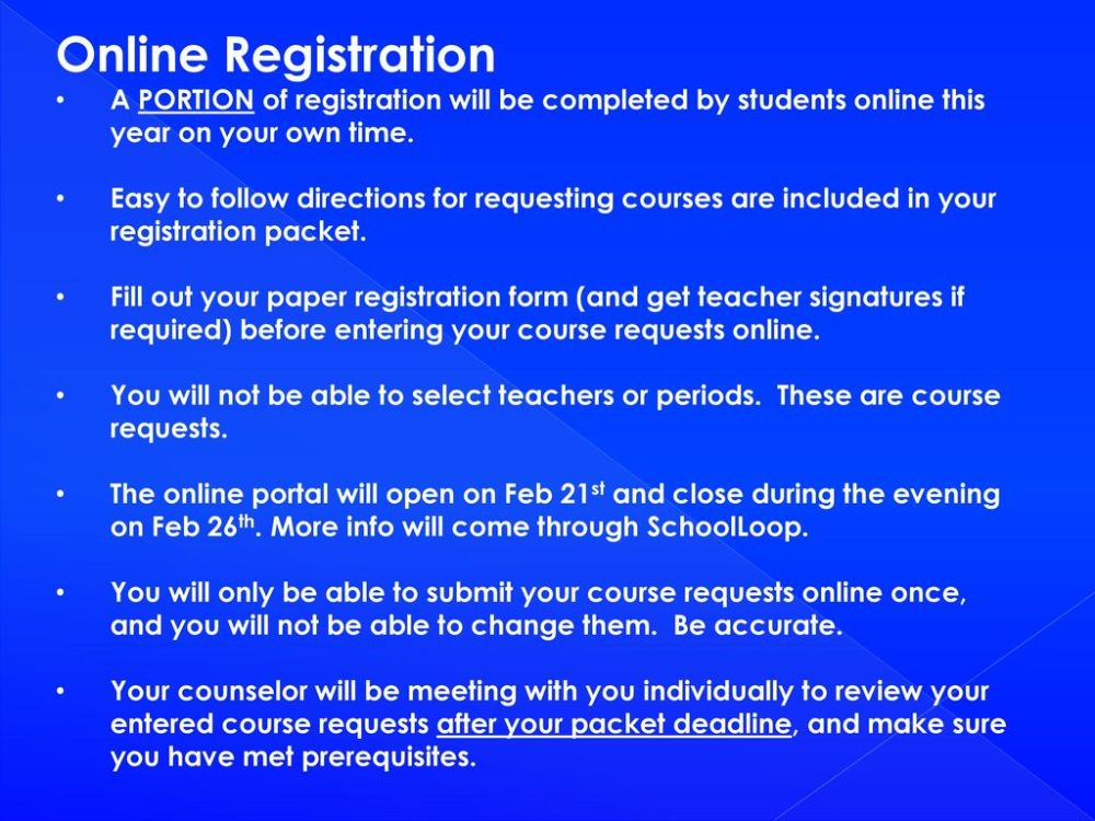 medium resolution of Registering for your 12th Grade Classes - ppt download