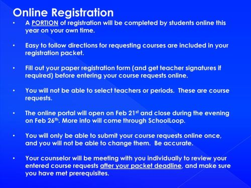small resolution of Registering for your 12th Grade Classes - ppt download
