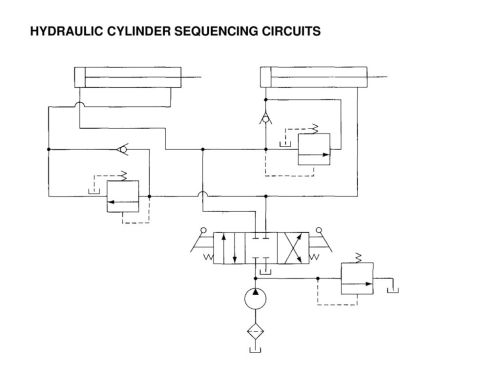small resolution of 20 hydraulic cylinder sequencing circuits