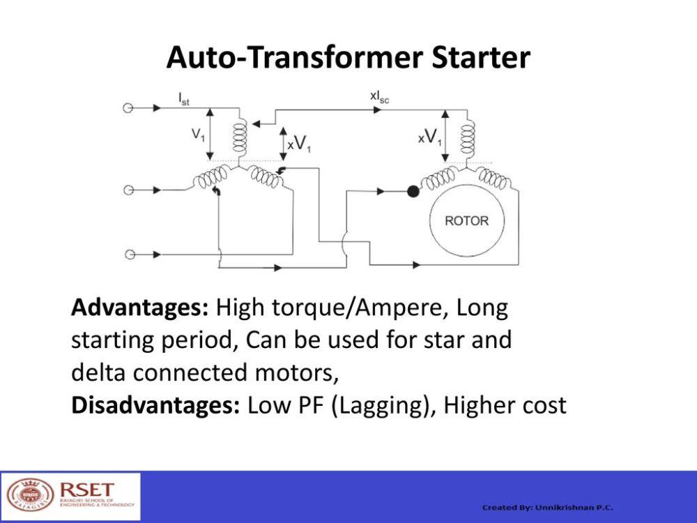 medium resolution of 28 auto transformer starter