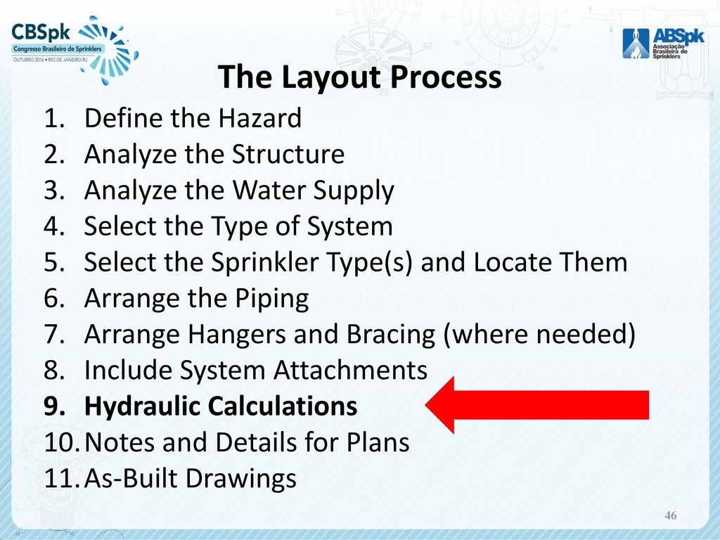 hight resolution of the layout process define the hazard analyze the structure 47 hydraulic calculations