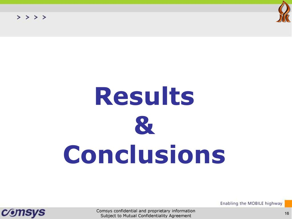17 Results And Conclusions