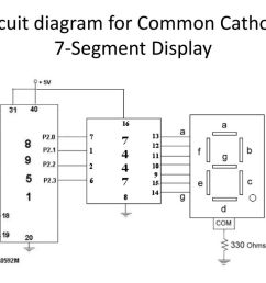 10 circuit diagram for common cathode 7 segment display [ 1024 x 768 Pixel ]