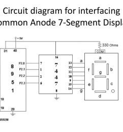 circuit diagram for interfacing common anode 7 segment display9 circuit diagram for interfacing common anode 7 [ 1024 x 768 Pixel ]